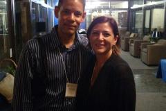 Lelena Avila with Javier
